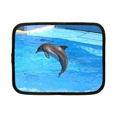 Jumping Dolphin Netbook Case (Small)