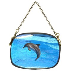 Jumping Dolphin Chain Purse (One Side)