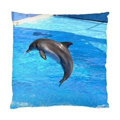 Jumping Dolphin Cushion Case (One Side)