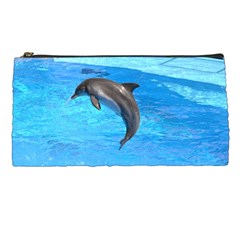 Jumping Dolphin Pencil Case