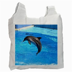 Jumping Dolphin Recycle Bag (one Side)