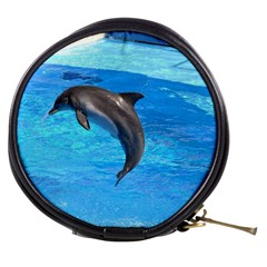 Jumping Dolphin Mini Makeup Bag