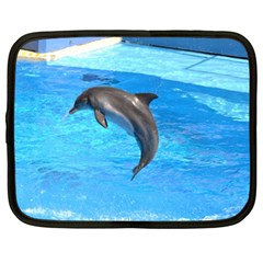 Jumping Dolphin Netbook Case (XXL)