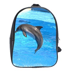 Jumping Dolphin School Bag (Large)