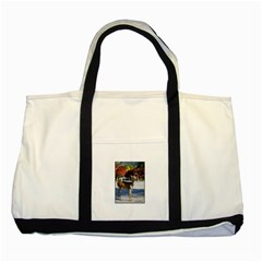 3 4 Two Tone Tote Bag