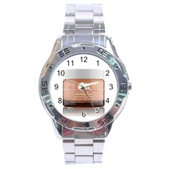 300x322 6240 Product Stainless Steel Analogue Men's Watch