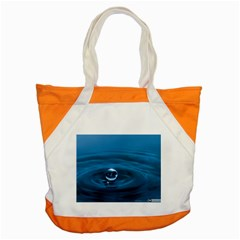 Water Drop Accent Tote Bag