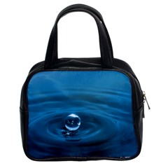 Water Drop Classic Handbag (Two Sides)
