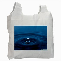 Water Drop Recycle Bag (One Side)