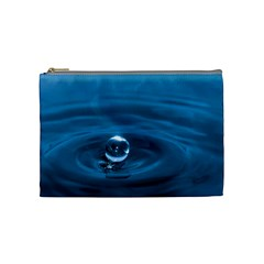 Water Drop Cosmetic Bag (medium)