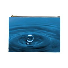 Water Drop Cosmetic Bag (large)
