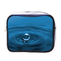 Water Drop Mini Toiletries Bag (one Side)