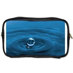 Water Drop Toiletries Bag (One Side)