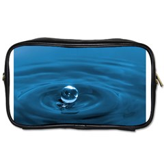 Water Drop Toiletries Bag (two Sides)