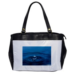 Water Drop Oversize Office Handbag (one Side)