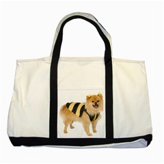 Dog Photo Two Tone Tote Bag