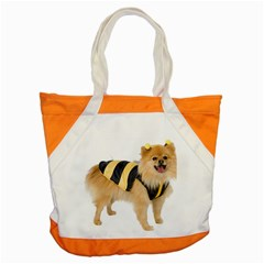 Dog Photo Accent Tote Bag