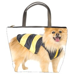 Dog Photo Bucket Bag
