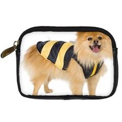 Dog Photo Digital Camera Leather Case
