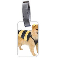 Dog Photo Luggage Tag (two sides)