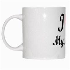 I Love My Beagle White Mug