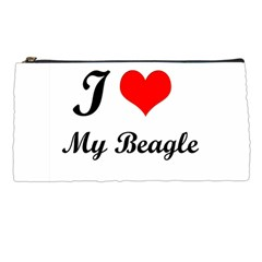 I Love My Beagle Pencil Case