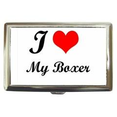 I Love My Beagle Cigarette Money Case