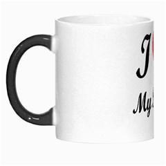 I Love My Beagle Morph Mug