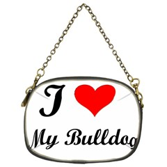 I Love My Beagle Chain Purse (One Side)