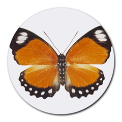 Butterfly Insect 8  Mouse Pad (Round)