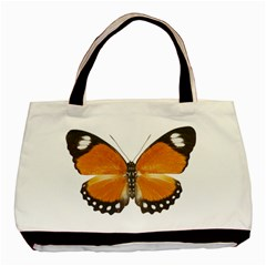 Butterfly Insect Black Tote Bag