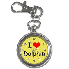 I Love Dolphin Key Chain & Watch