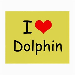 I Love Dolphin Glasses Cleaning Cloth