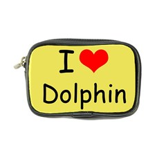 I Love Dolphin Ultra Compact Camera Case