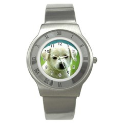 Dog1 Stainless Steel Watch