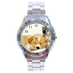 Dog2 Stainless Steel Analogue Men's Watch