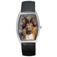 Dog4 Barrel Style Metal Watch