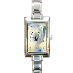 Bear1 Rectangular Italian Charm Watch
