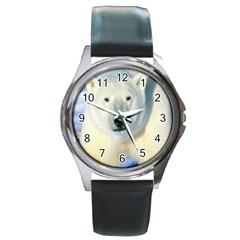 Bear1 Round Metal Watch