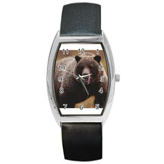 Bear2 Barrel Style Metal Watch