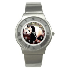 Panda1 Stainless Steel Watch