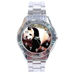 Panda1 Stainless Steel Analogue Men's Watch