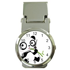 Panda3 Money Clip Watch