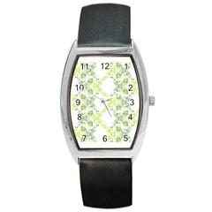 Pattern2 Barrel Style Metal Watch