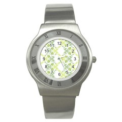 Pattern2 Stainless Steel Watch