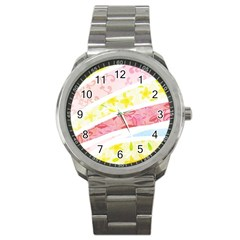 Pattern4 Sport Metal Watch