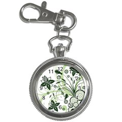 Flower1 Key Chain Watch