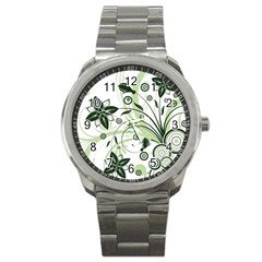 Flower1 Sport Metal Watch