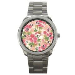 Flower3 Sport Metal Watch