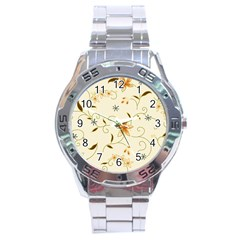 Flower4 Stainless Steel Analogue Men's Watch